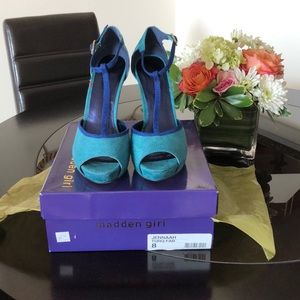 Madden Girl high heel  platform